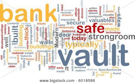 Bank Vault Word Cloud
