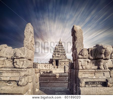 Shore Temple In India