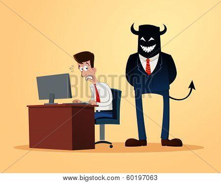scary supervisor