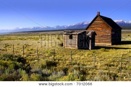 Rustic farm house