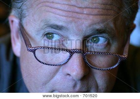 Man Thinking Close Up