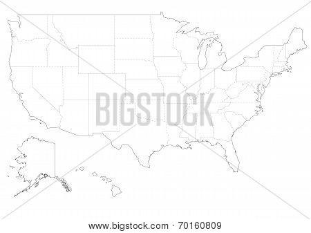 Map of America