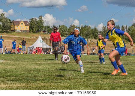 Race For The Soccer Ball