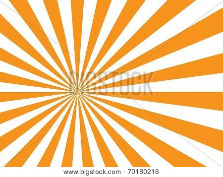 sunburst on white background