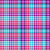 Abstract seamless tartan blue and lilas pattern (vector EPS 10) poster