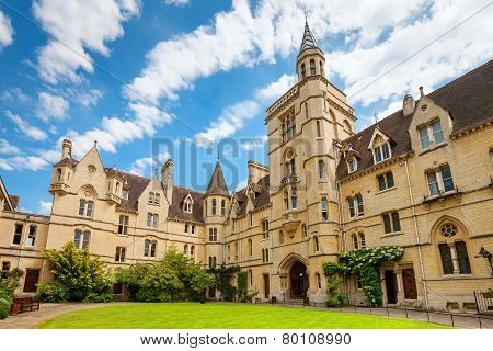Balliol College. Oxford, England
