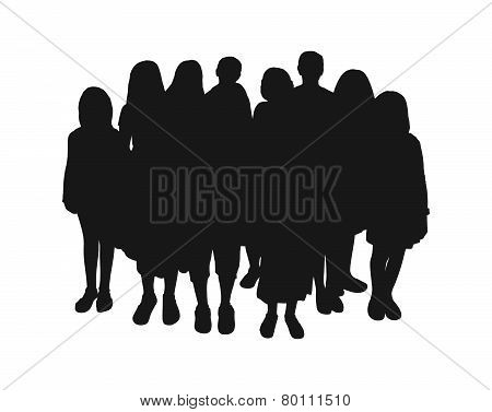 Audience Silhouette 3