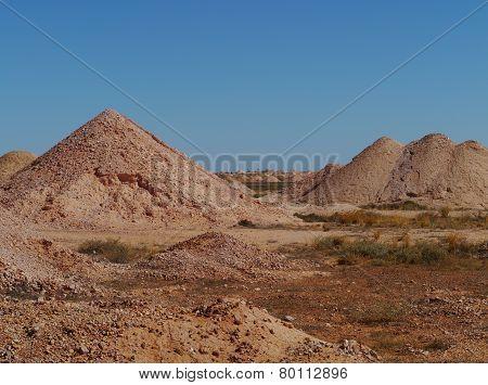The colorful earth of Australia