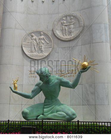 Hart Plaza Monument