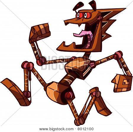 jogging robot