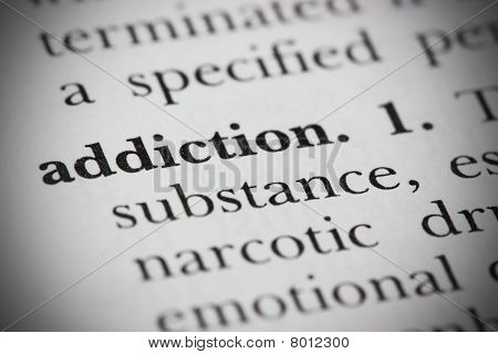 Dictionary Word Addiction