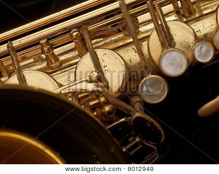Tenor Sax Close-up