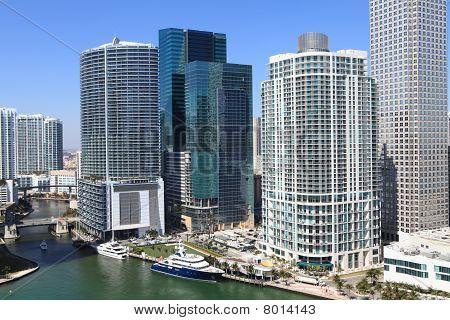 Downtown Miami Waterway