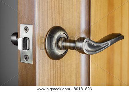 Slightly Opened Door