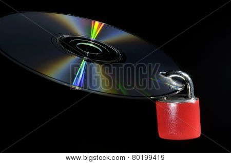Compact Disk Data Protection Concept