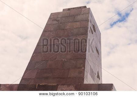 Center Of The World, Mitad Del Mundo, Abstract View, South America
