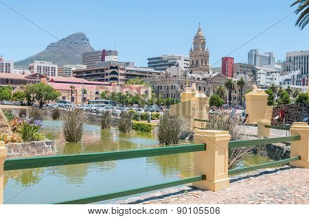 Moat,  Cape Town Central Business District And Lions Head