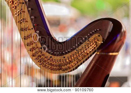 Symphony  musical instrument called harp details
