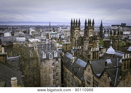 Edinburgh skyline  Edinburgh, Scotland