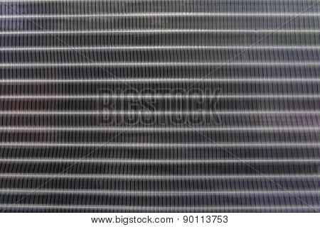 Close Up Texture Pattern Of Air Condition Exhaust Coil  Use For Industry Background,backdrop