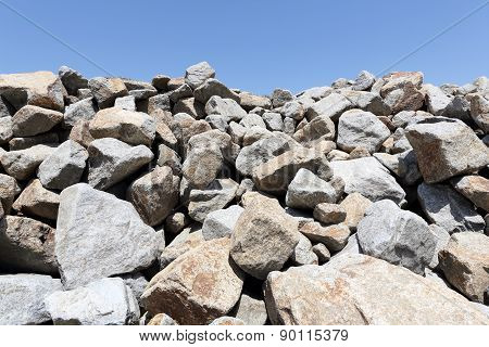 stack of limestone