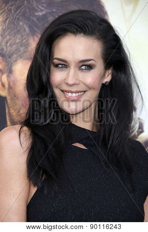 LOS ANGELES - MAY 7:  Megan Gale at the Mad Max: Fury Road Los Angeles Premiere at the TCL Chinese Theater IMAX on May 7, 2015 in Los Angeles, CA