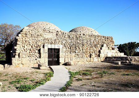 Medieval Turkish Baths, Paphos, Cyprus