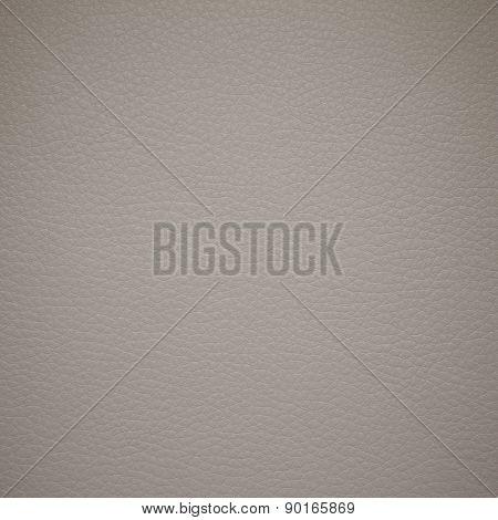 Biege leatherette texture. Pattern biege leather. Close-up. poster