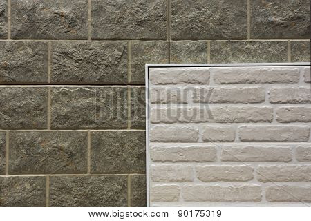 Fragment Background Of A Stone Wall For Designers .