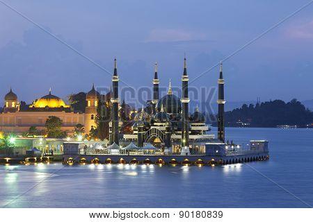 Masjid Kristal In Kuala Terrengganu, Malaysia