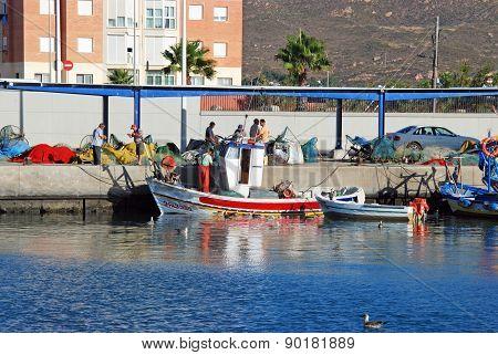 Fishing Harbour, Puerto de la Atunara.