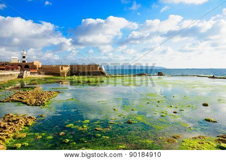 Templar Fortress In Acre