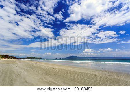 Doc Let beach At Morning Nha Trang central Vietnam poster