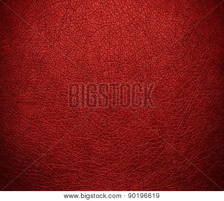 Carnelian color leather texture background