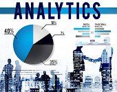 Analytics Analysis Statistics Marketing Data Concept poster