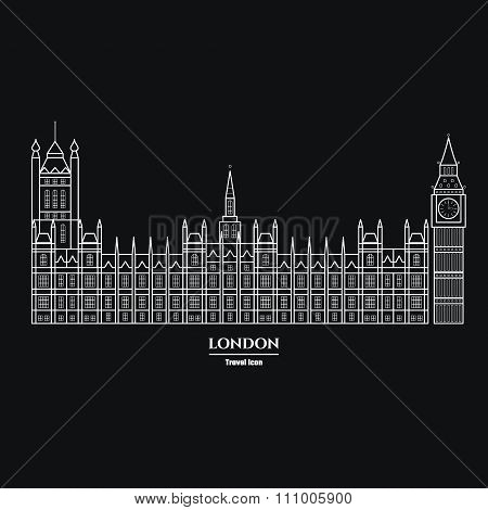 Big Ben and Parliament  Icon 1