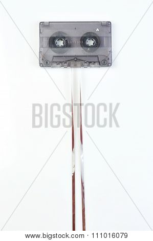 Audio Casette With Tape