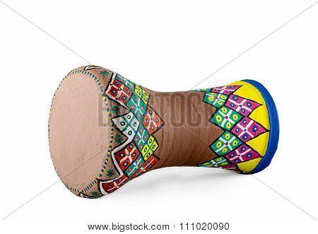 The Goblet Drum (also Chalice Drum, Tarabuka, Darbuka, Debuka, Doumbek, Dumbec, Dumbeg, Dumbelek, To