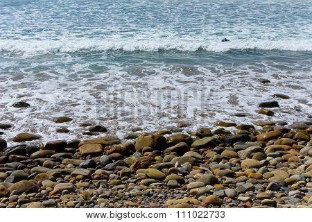 Cold Summer Beach
