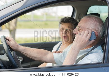 using cellular while driving