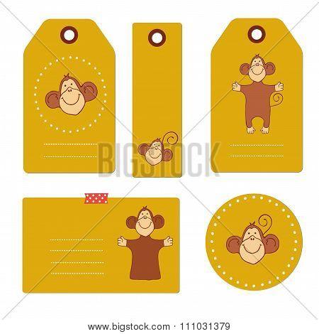 Monkey tags