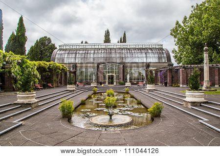 Orangery Auckland Botanical Gardens garden opened to the public