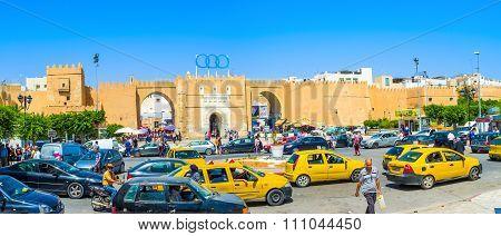Panorama Of Bab Diwan Gates