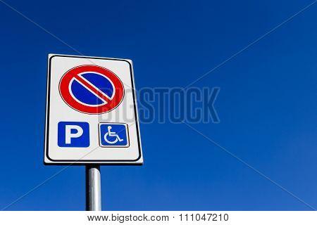 Road Sign No Parking