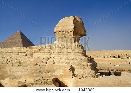 Egyptian Sphinx.