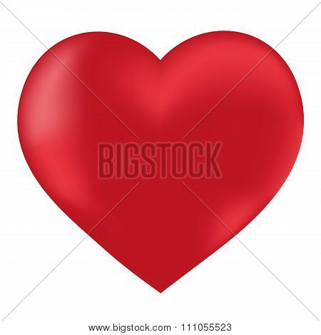 Heart Isolated Object Vector