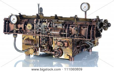 Steampunk Mechanism.
