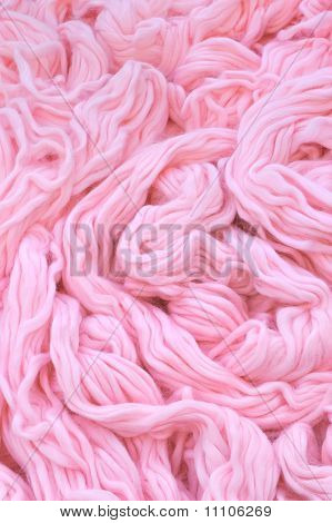 Detail of dyed wool - background