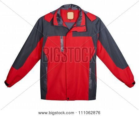 Red Mens Jacket Outdoors