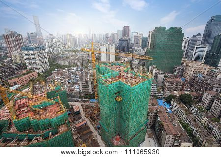 guangzhou is a morden city in china